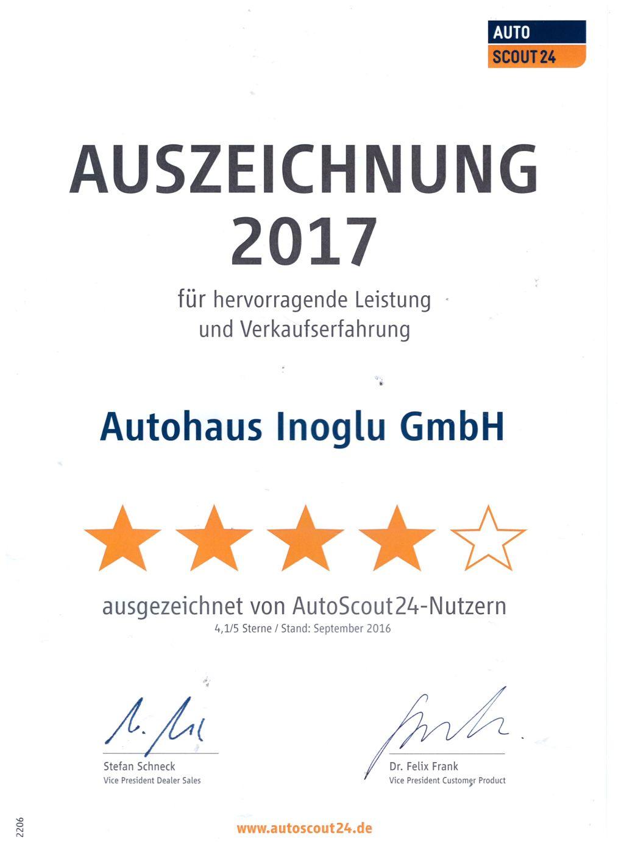 Auszeichnung-AutoScout